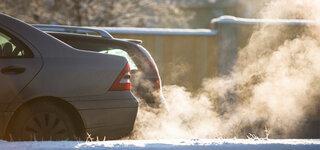 Luftverschmutzung größte Bedrohung für die Gesundheit Autos Abgase Lärm Kälte Auspuff