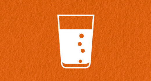 Infografik Wasserglas