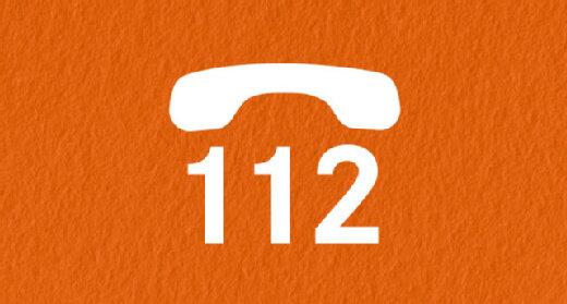 Infografik 112 Telefon: Rettungsdienst anrufen