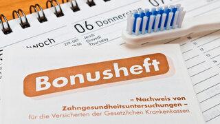 Bonusheft Krankenkassen Zahngesundheit