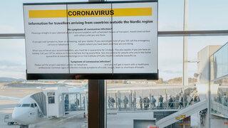Deutschland als Risikogebiet Beschränkungen für Reisende Norwegen Oslo Flughafen