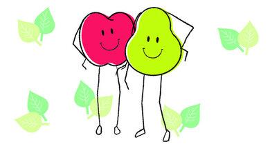 Eine Frage der Figur: Sind Sie eher Birne oder Apfel?