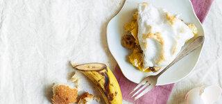 Arme-Ritter-Auflauf mit Bananen