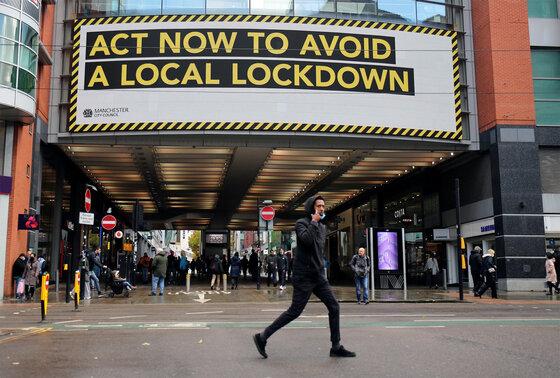 Plakat: Lockdown verhindern