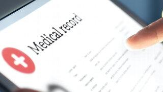 Tablet mit elektronischer Patientenakte