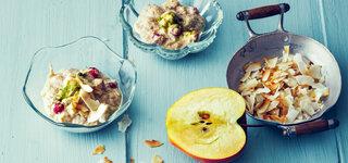 Apfel-Porridge