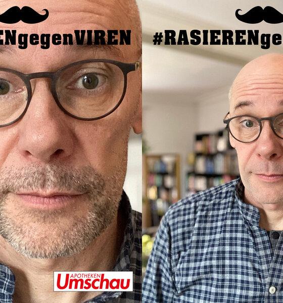 Aktion #RasierengegenViren mit und ohne Bart