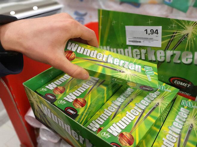 kein Feuerwerksverkauf in der Coronapandemie