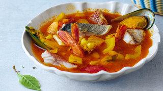 Bouillabaisse Fischsuppe Mittelmeerküche