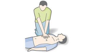 Erste Hilfe Maßnahme