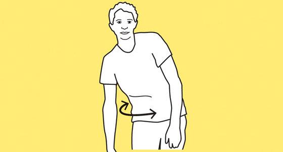 Übung Körperpartien lockern