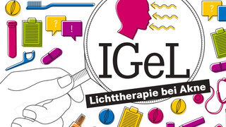 IGeL: Licht gegen Akne