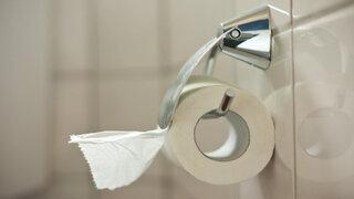 Toilettenpapier Verstopfung