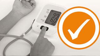 Blutdruck selber messen