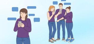 Behaupte dich gegen Mobbing Tag im Internet Soziale Medien Anfeindung Whatsapp Gruppen Facebook Instagram