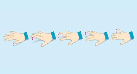 Training für starke Hände