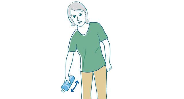 Übungen zur Mobilisierung der Schulter