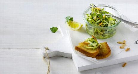 Zucchini-Zitronen-Salat