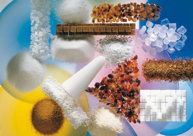 Verschieden Zuckerarten