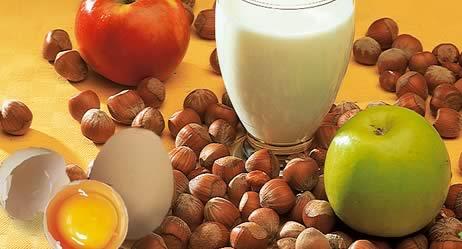 Auslöser von Nahrungsmittelallergien