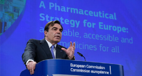 Coronavirus Arzneien «made in Europe»? EU will Lehren aus der Pandemie ziehen Brüssel Belgien Pharmaceutical Strategy for Europe Margaritis Schinas