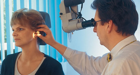 Ohrenuntersuchung