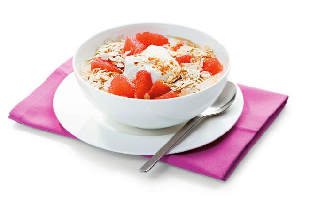 Grapefruit-Müsli