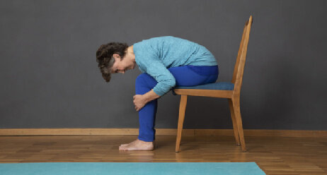 Reizdarm-Yoga mit Gabi Theinert