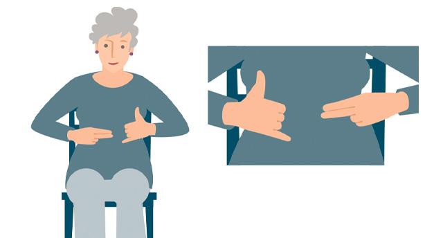 Koordinationsübung: Finger-Bewegungen im Wechsel