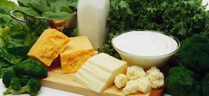 Milch, Quark und Käse